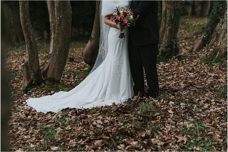 Siobhan & Stephen // A Winter Wedding Corick House Hotel