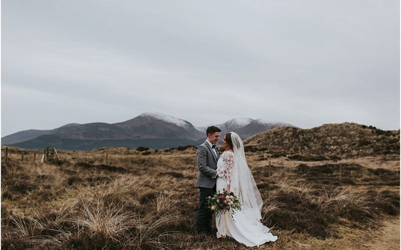 Niamh & Conor // Slieve Donard Murlough Wedding
